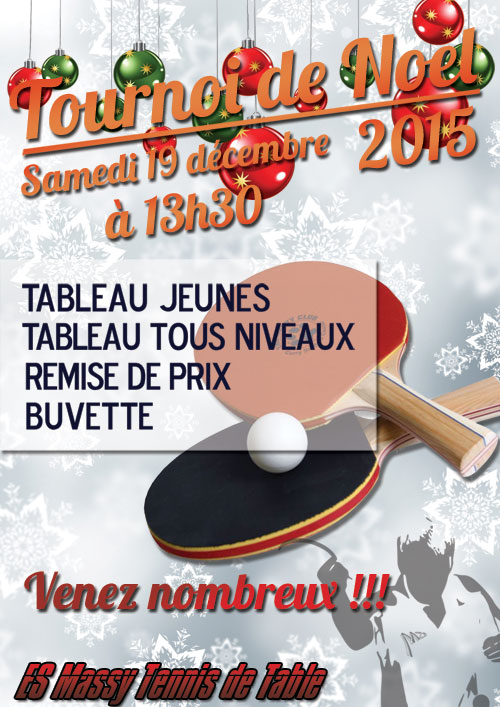 Tournoi de Noël 2015